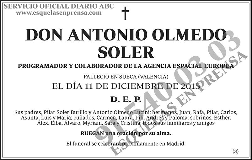 Antonio Olmedo Soler